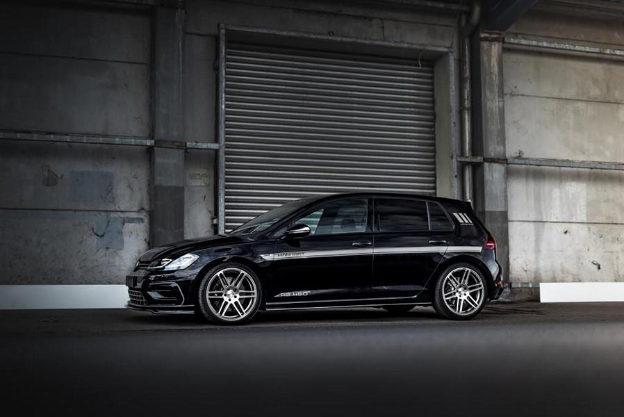 There were times when Germany-based tuner Manhart Performance only worked with BMW cars, Since then, the company has expanded its scope of work dramatically and is now tackling Toyota, Mercedes, Jeep and even an occasional Bentley or Tesla. It has never done a single Volkswagen, though – until now.