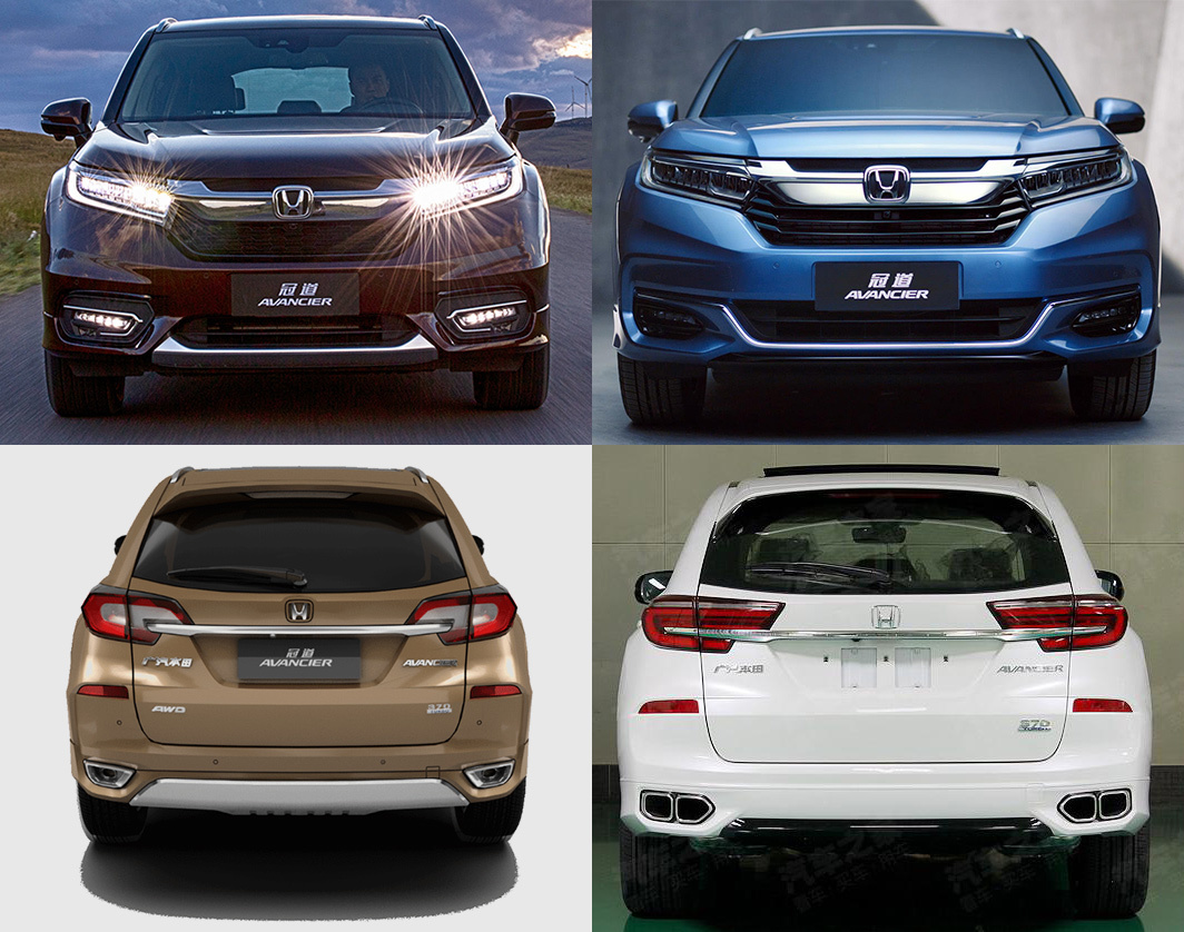 Four years ago, GAC Honda launched an SUV called Avancier in China, while Dongfeng produced its complete clone called UR-V.  Both came based on the same Honda D Concept revealed a year before. Today, both received a mid-life refresh.