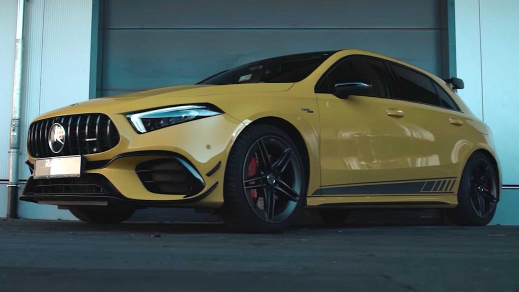 Устроенный на днях заезд новейшего AMG A 45 S 4MATIC+ (W177) по «Северной петле» Нюрбургринга дал неутешительные результаты: хот-хэтч пришел позади топовых Renault Megane и Honda Civic. Теперь немецкие тюнеры из RaceChip разработали для него программу «допинга», с которой побеждать станет проще.