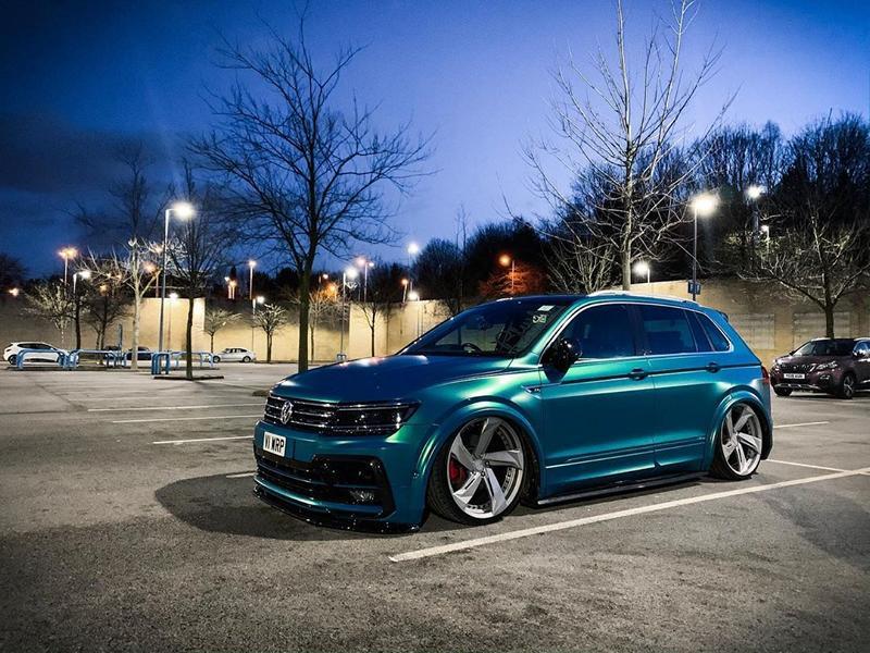 Volkswagen Tiguan II поколения – один из самых популярных кроссоверов на рынке, а с пакетом R-Line и парочкой индивидуальных штрихов он становится еще краше.