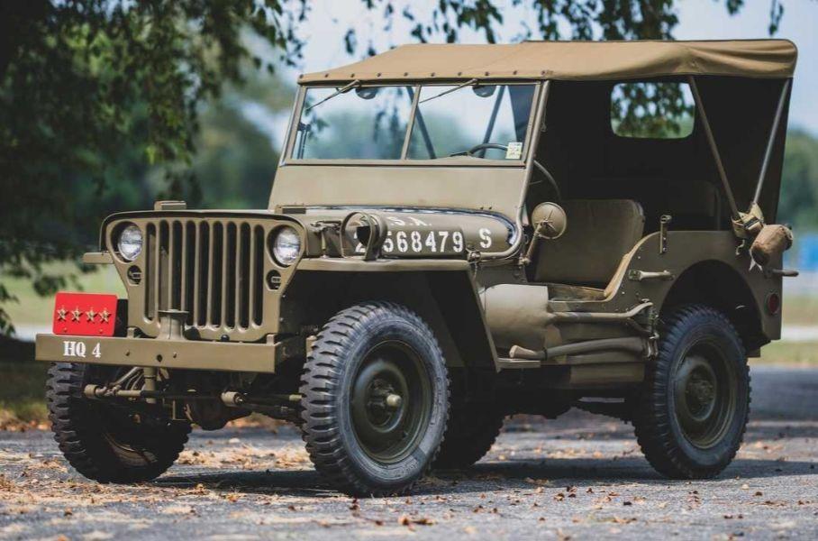 В начале мая RM Sotheby's продаст редкие автомобили, послужившие в рядах военных войск.