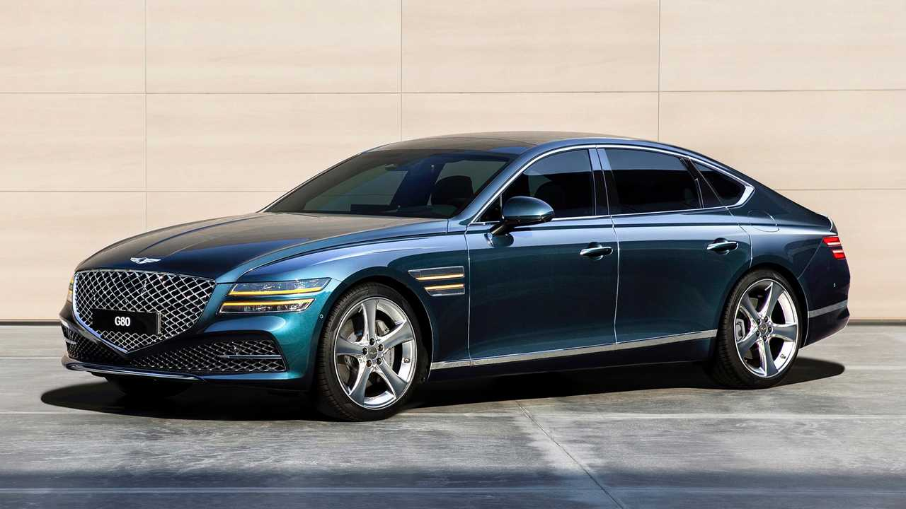 Genesis has taken the wraps off the second generation of its G80 business sedan. Just as we expected, the car takes much after the GV80 SUV.