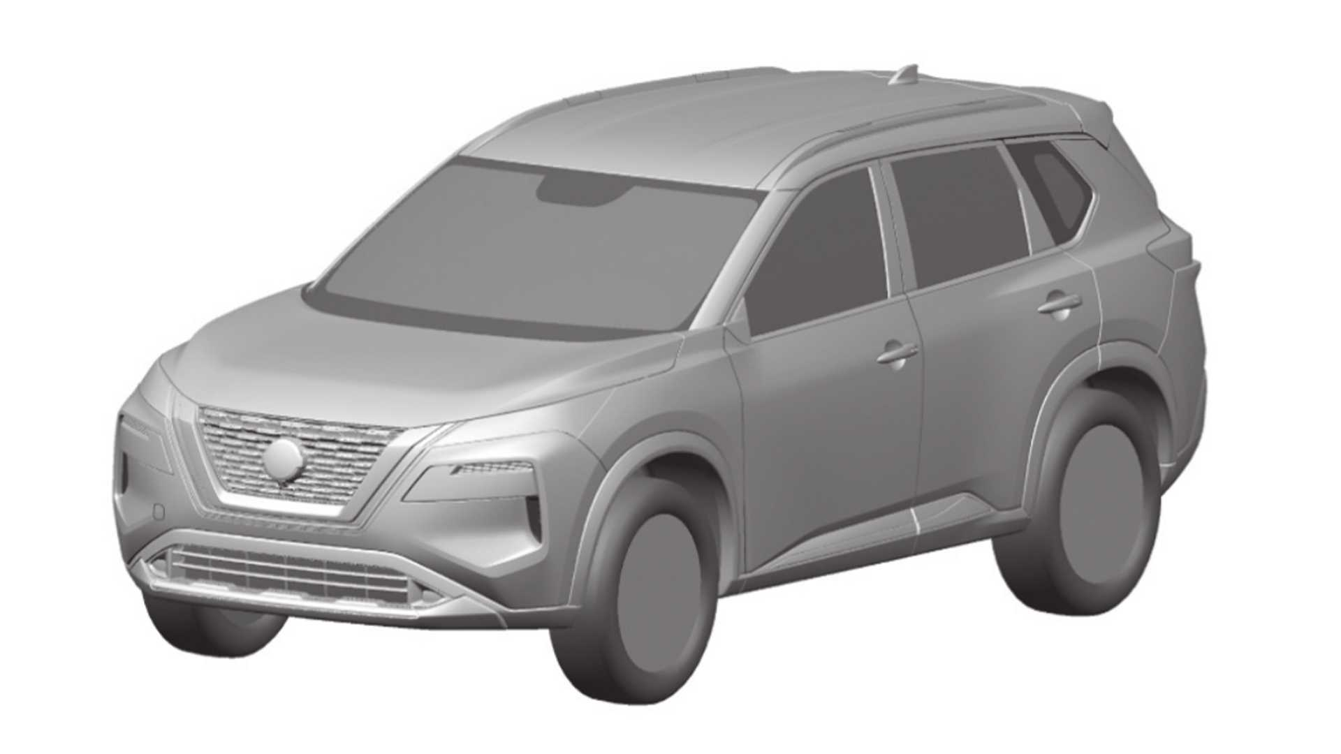 These pictures, officially submitted by Nissan to the Brazil Patent Office, reveal the exterior design of the fourth-generation Nissan X-Trail SUV that was scheduled for premiere before mid-summer.