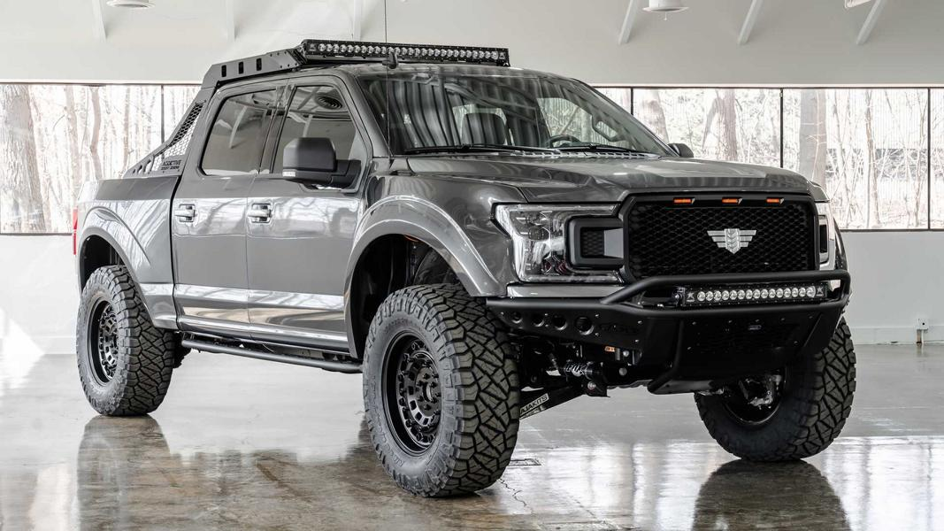 Up until recently, we have known U.S.-based Mil-Spec Automotive as a dedicated tuner of Hummer H1 vehicles. Its latest project – the extensively tuned Ford F-150 pickup – marks a significant detour from tradition.