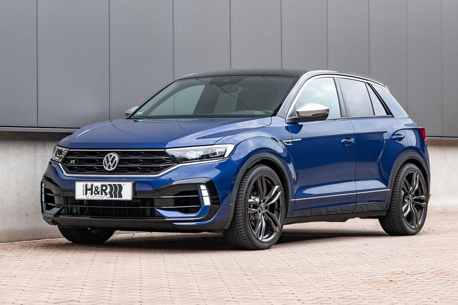 German suspension parts manufacturer H&R has launched a lowering kit for one of Volkswagen Group's best-selling vehicles, the compact-sized T-Roc SUV.