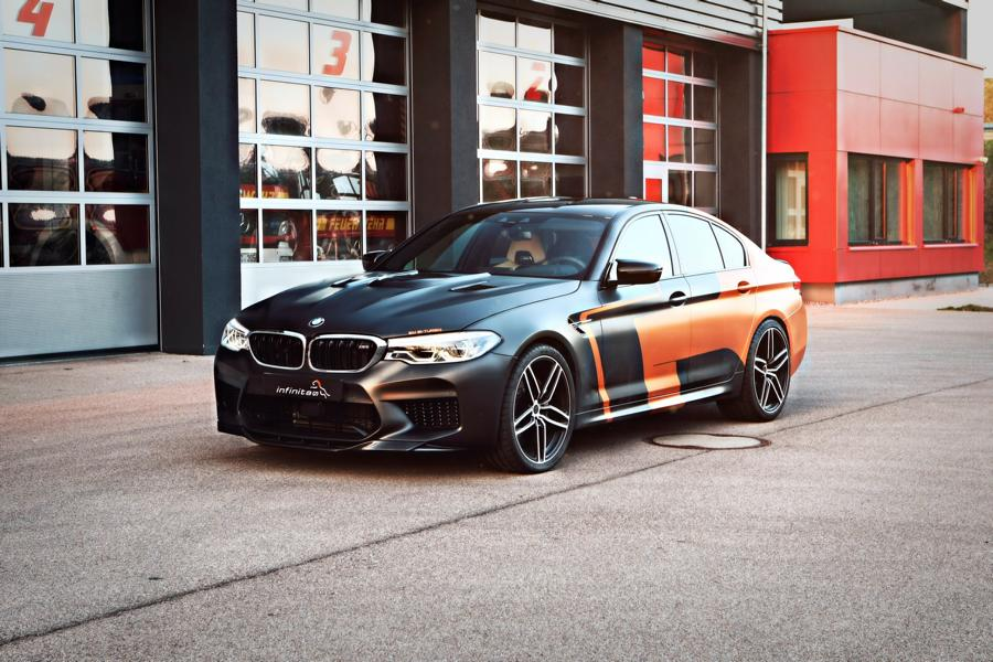 The BMW F90 M5 has already seen its stock engine taken from 625 to 800+ horsepower through a variety of upgrades, but GP infinitas GmbH seems to want much more still.