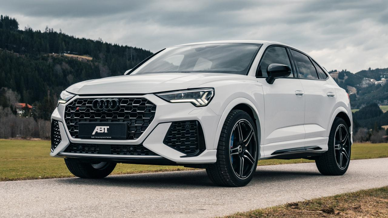 The new Audi RS Q3 debuted last fall, introducing us to an enhanced 'evo' version of its EA855 2.5 turbo-five engine. The mill shed 26 kilos (57 lbs) and gained impressive amounts to power. Even so, ABT Sportsline found a few things to improve upon.