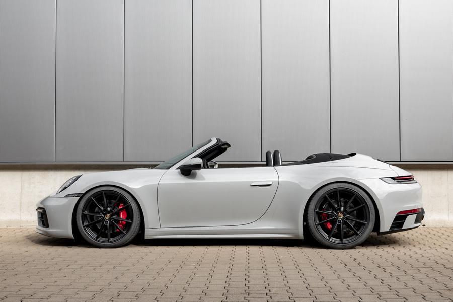 Быстрее, шире, мощнее – последняя генерация Porsche 911 ставит новые рекорды легко и непринуждённо. Дорабатывать, казалось бы, уже нечего, но инженеры из H&R нашли одну мелочь.