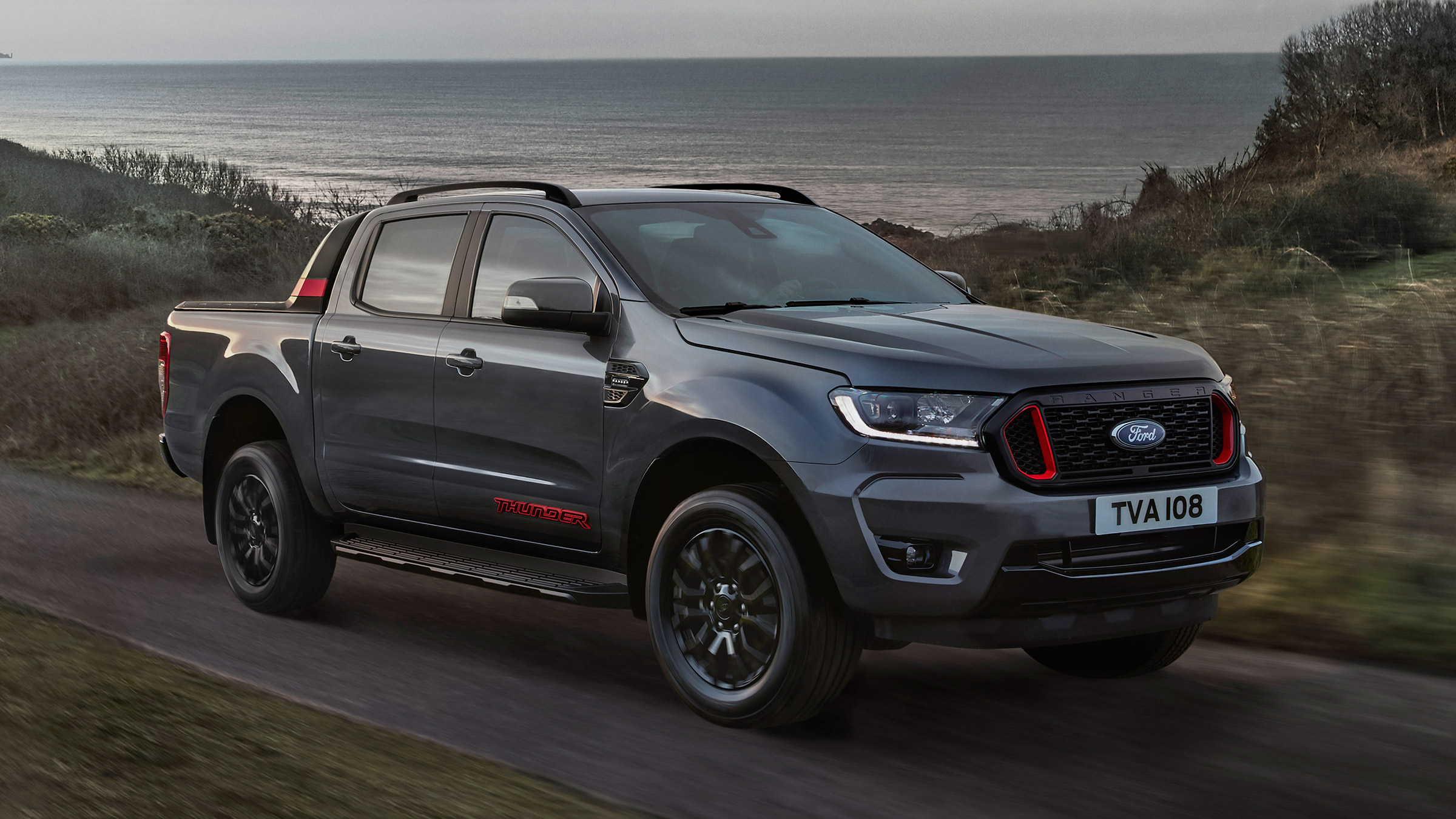 Ford has prepared a limited run of its Ranger pickup truck for Europe. Called Thunder, it comes limited to 4,500 production units starting from £32,965 in the UK.