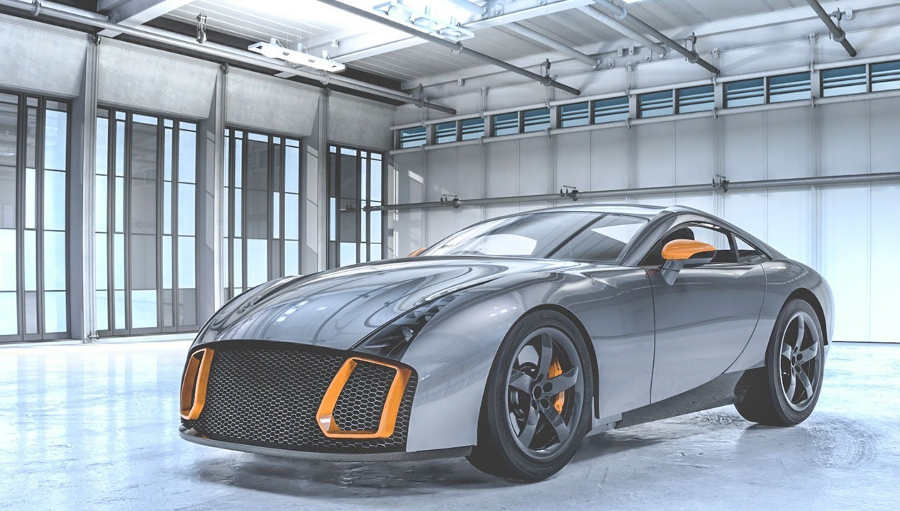 Mulholland Automotive, a subsidiary of Great Britain-based Mulholland Group that specializes in composite materials, engineering and motorsports tech, announced the development of an all-new two-door coupe with TVR-like appearance.
