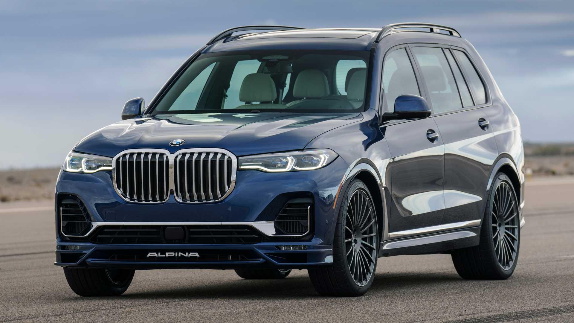 Компания BMW до сих пор не выпустила М-версию своего топового кроссовера X7. Ателье Alpina решило занять пустую нишу и представило модель XB7.