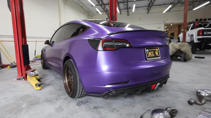 Milltek, a well-known German vendor of performance exhaust systems, has designed a few of these specifically for the all-electric Tesla Model S, 3, X, and Y. What's the big idea?