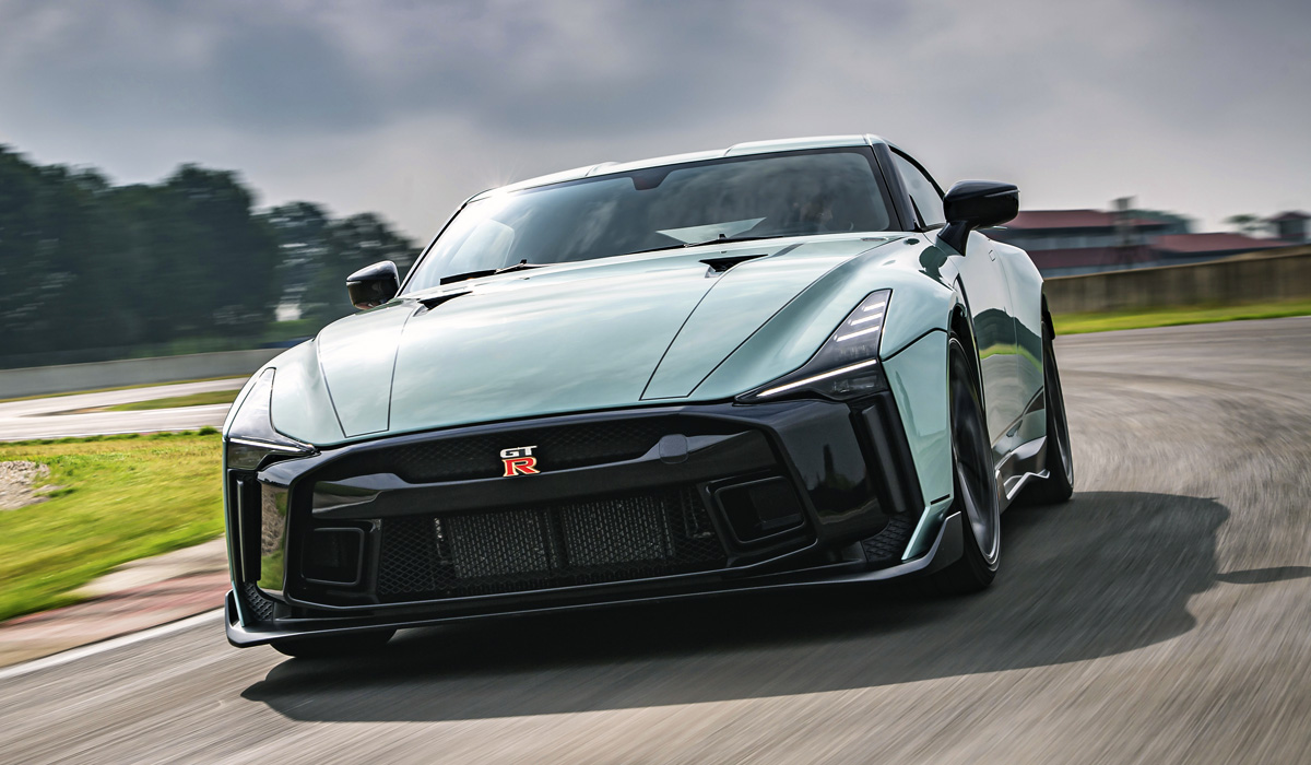 When Nissan premiered its original GT-R 50 Concept a couple of years ago, the date coincided with 50th anniversaries of coachbuilder Italdesign and the Nissan Skyline GT-R model, prompting the companies to collaborate on a special edition called 'GT-R 50'.