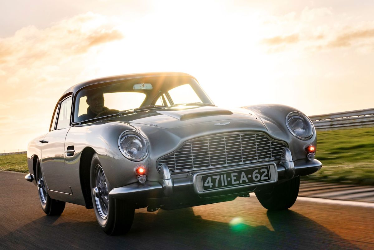 Aston Martin DB5 re-enters production after a 55 year pause