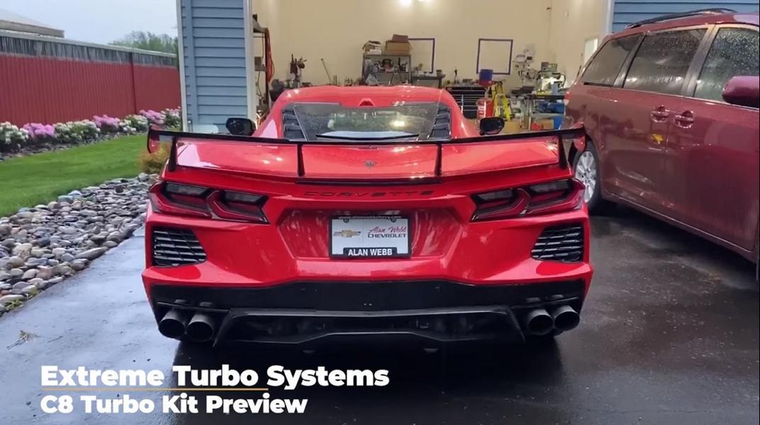 Лето наступает, и счастливым обладателям новейшего суперкара Chevrolet C8 Corvette Stingray не терпится сесть за руль. Специально для них в мастерской Extreme Turbo Systems разработали мощный тюнинг.