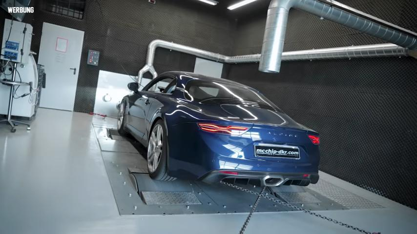 The Mcchip-DKR engineer team has come up with a €900 chip tune that helps the regular Alpine A110 ascend to the level of performance associated with its senior model, the A110S.