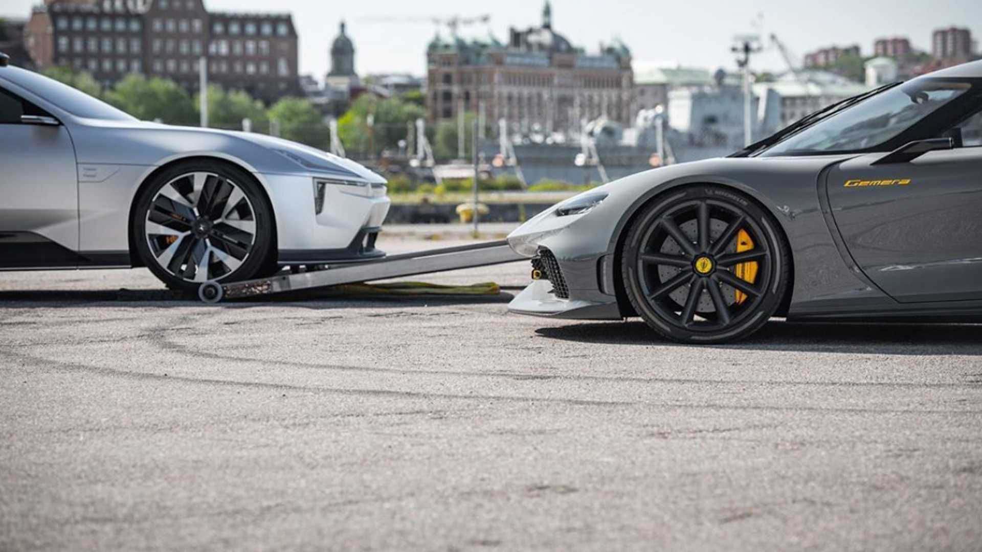 One would think the only thing in common between Koenigsegg and Polestar is that both are Swedish carmakers. With the former specializing in crazy hypercars and the latter in EVs, one wouldn't expect them to team up – but they did just that.