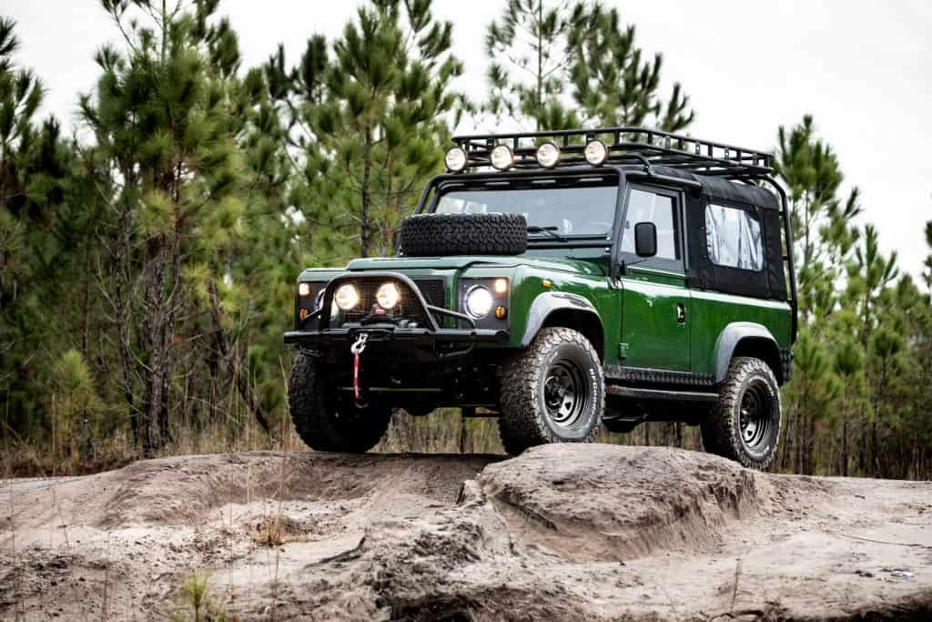 Single-make car restorer E.C.D. Automotive Design has unveiled another of its great restomods, the Project Family Vacation. Based off a Defender 90, the SUV boasts a new body kit, an interior makeover, and a modern V8.
