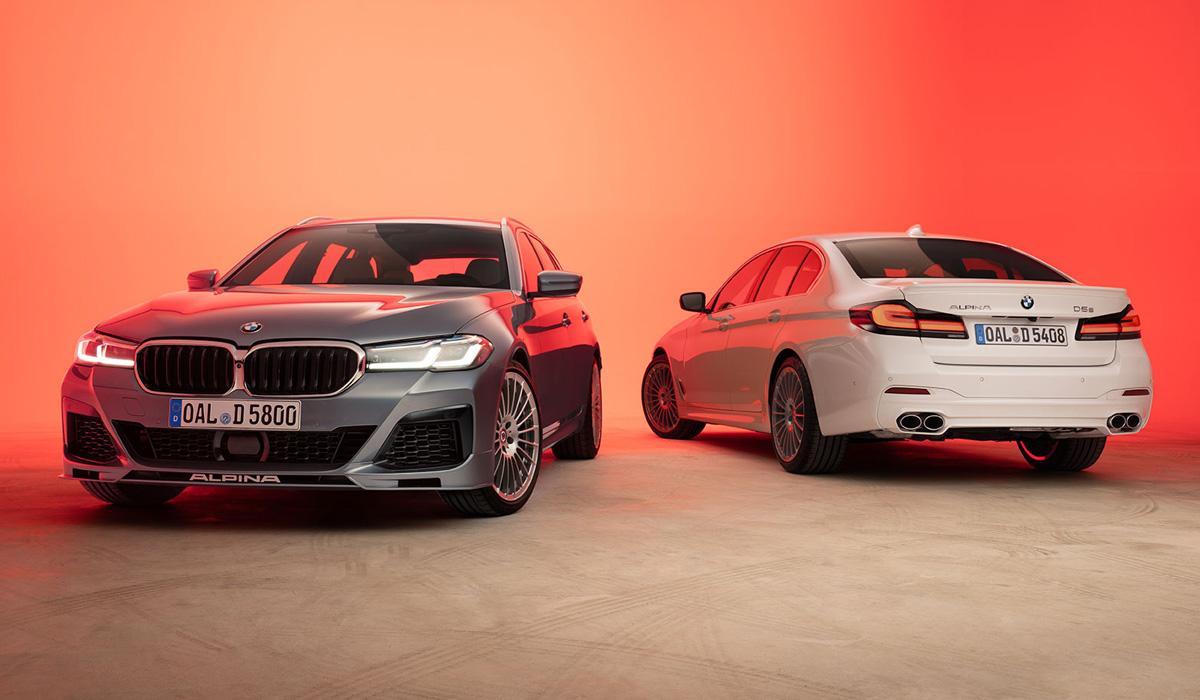 Рестайлинговая BMW 5 серии дебютировала совсем недавно, а теперь ателье Alpina обновило сразу две своих «пятёрки» - бензиновую B5 и дизельную D5 S. Как и исходник, они изменили оптику и радиаторную решётку.