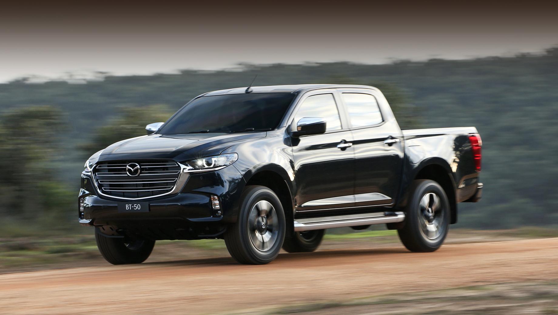 Mazda reveals brand-NEW MAZDA BT-50
