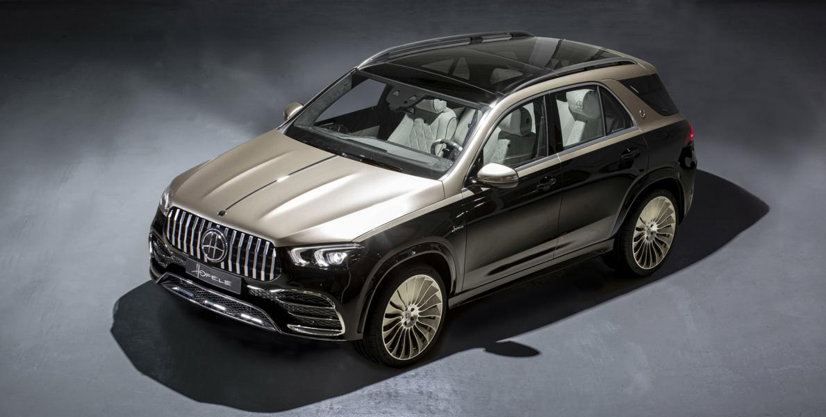 Hofele is renowned for its ultra-deluxe makeovers of expensive Mercedes-Benz vehicles. A few days ago, the company filled in the gap in its product lineup by introducing the Ultimate HGLE – essentially a Mercedes-Benz GLE finished in pale gold and black.
