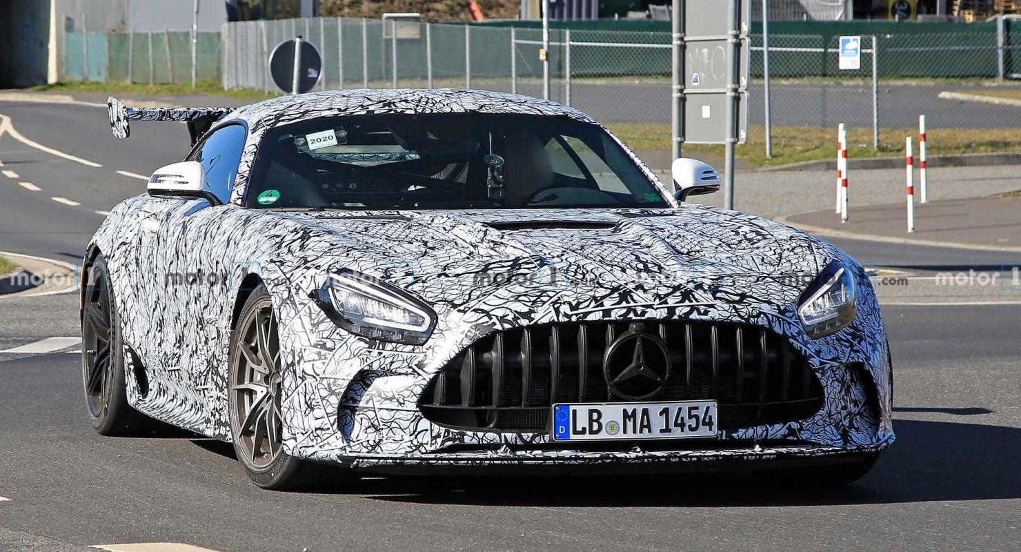The racetrack-focused Mercedes-AMG GT will first show up before the general audience at the Chengdu Motor Show on July 24, 2020, the press release claims.