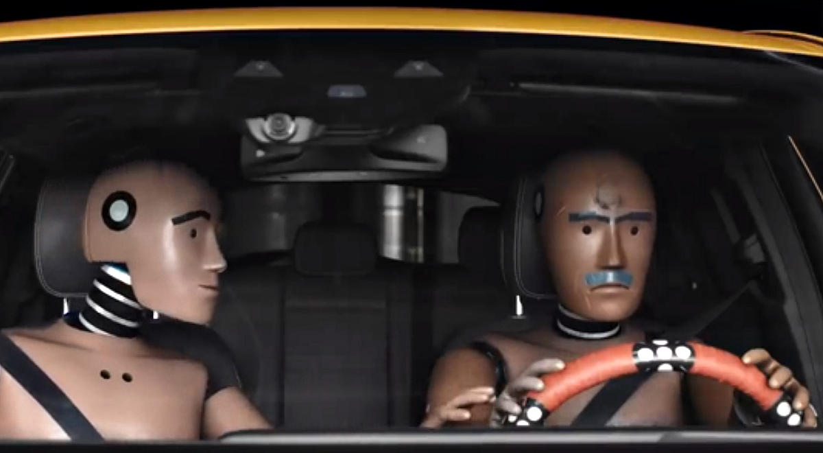 Starting with a pilot episode today, the German automaker delves into the metaphorical lives of the selfless beings who help us stay alive and safe in our cars – the crash dummies.