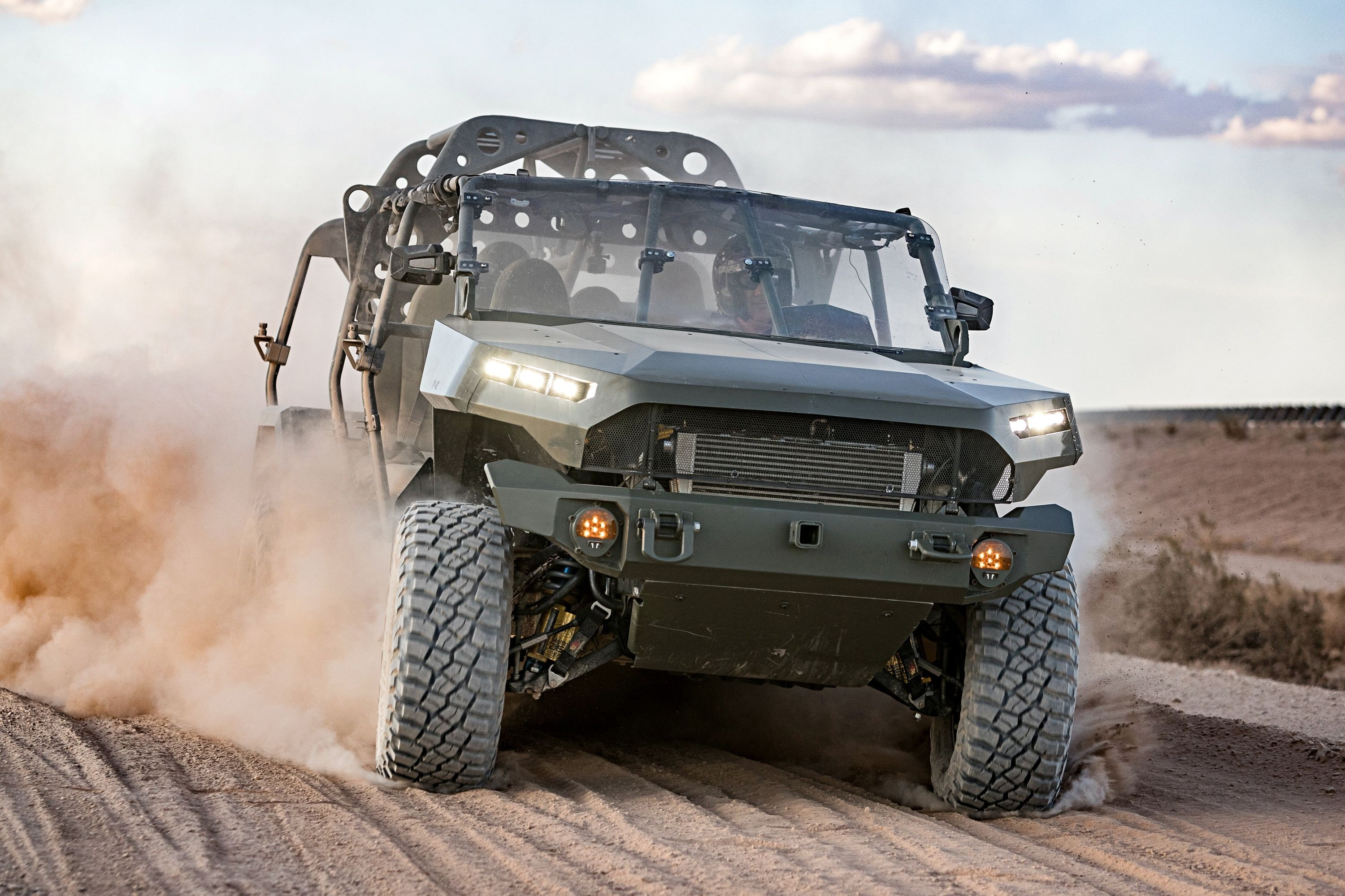 Best In The Desert is a hardcore sand racing event held in 2017–2019. Out of the 434 participant vehicles, only 4 have managed to overcome all 11 stages of the race, the rest dropping out eventually. The Chevy Colorado ZR2 was among the winners, though, provoking interest from the military.