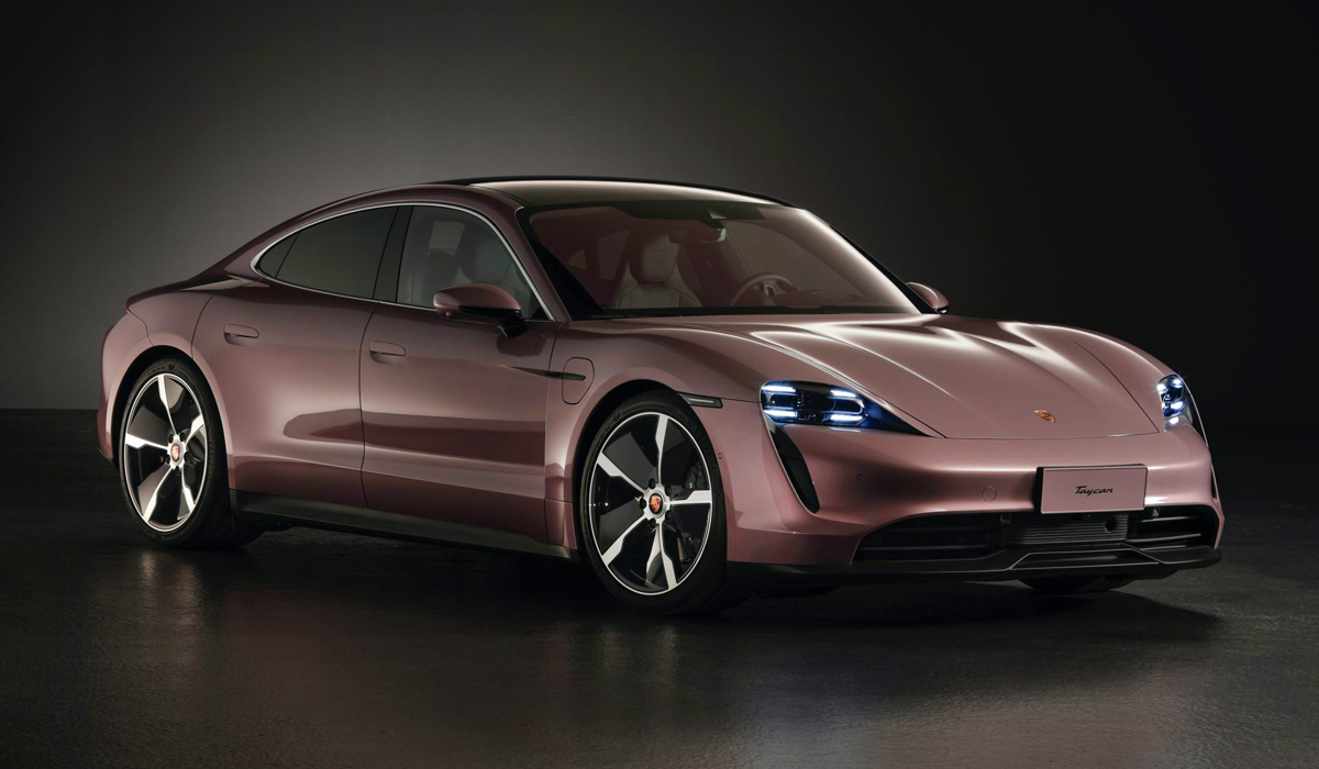 Porsche used to ship its Taycan EV with dual engines and AWD regardless of the trim level, but today, a single-motor/RWD spec goes on sale in China priced below the rest.
