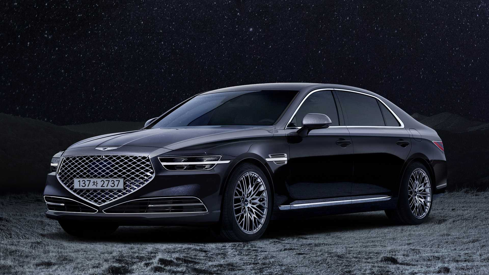 Genesis has unveiled the Stardust edition of its G90 flagship saloon, which will come out in a production run limited to 50 units.