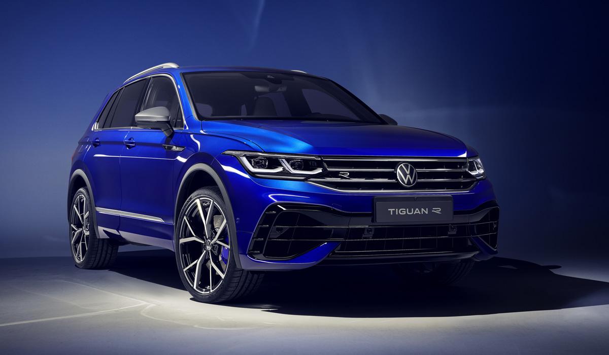 Компания Volkswagen обновила Tiguan: кроссовер получил пару новых модификаций – подзаряжаемую гибридную и «горячую».
