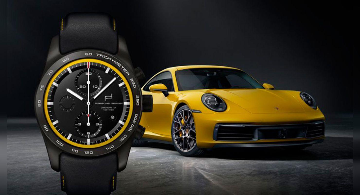 Заводская тюнинг-мастерская Porsche Exclusive Manufaktur, занимающаяся персонализацией моделей бренда, предложила кастомизировать наручные часы под автомобиль.