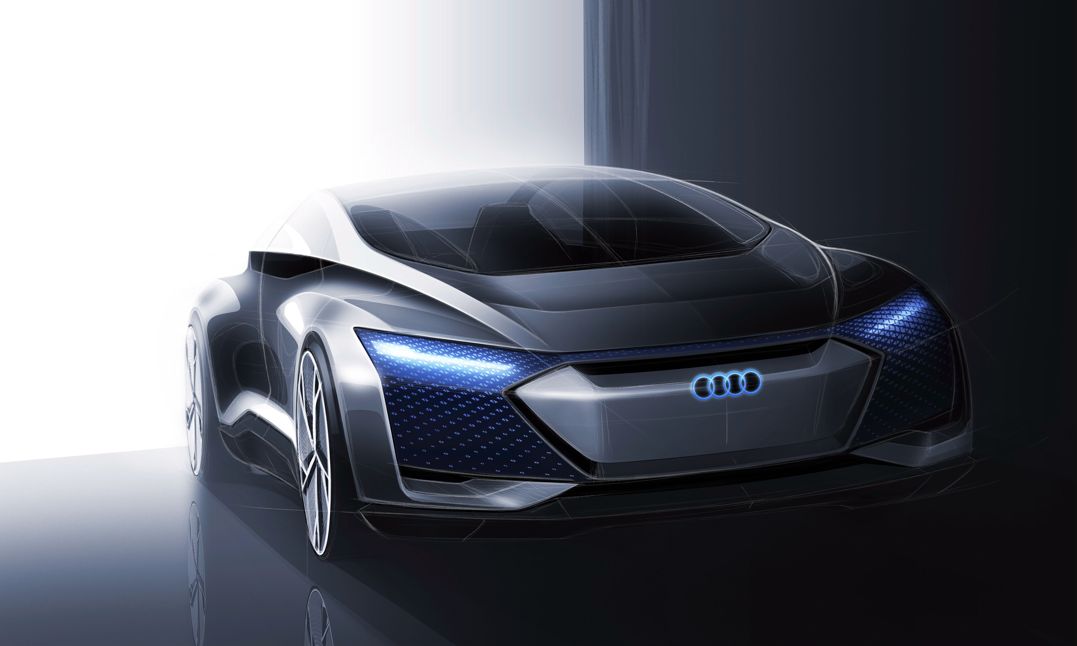 VW Group has announced a flagship electric saloon it has been working on: the Audi A9 E-tron. The design study comes based on the Aicon Concept shown in the gallery here and should be complete by 2024.