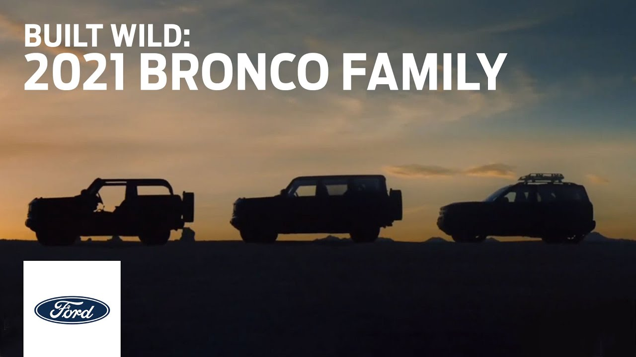 The new Ford Bronco will hit the spotlight on July 13, but in the meantime, the manufacturer keeps teasing us with less-than-revealing videos showing its three- and five-door variants, as well as the compact-sized Bronco Sport.