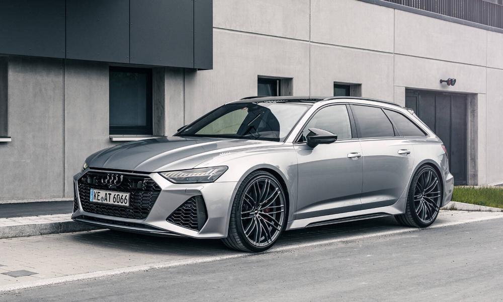 Некоторое время назад в ателье ABT Sportsline стартовали продажи Audi RS6-R – «прокачанной» версии универсала RS6 Avant (C8). Но из-за доработки двигателя и обвеса автомобиль вышел весьма дорогостоящим, и теперь в продажу поступили новые компоненты, которые можно приобретать по отдельности.