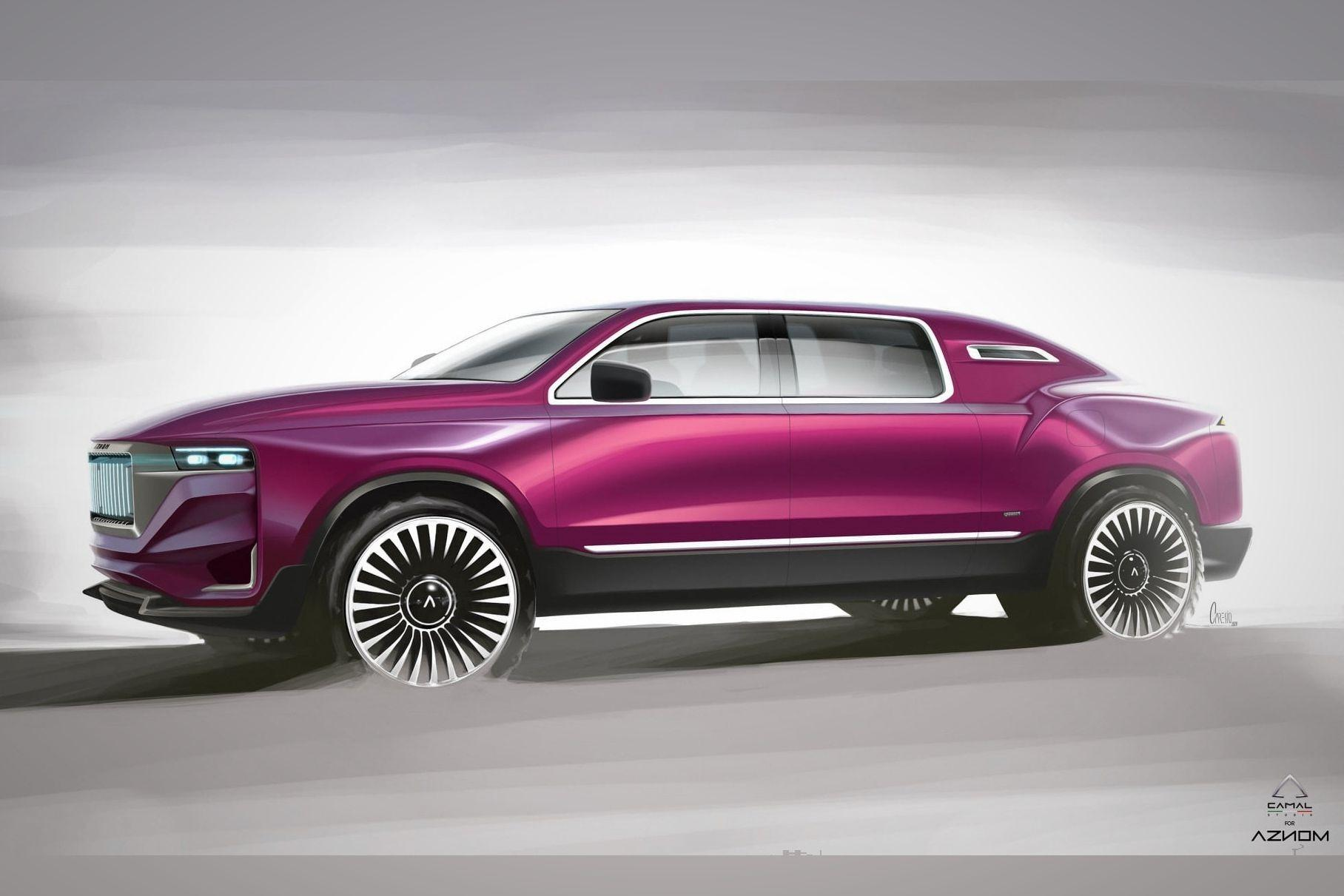 Auto tune-up shop Aznom Automotive has joined efforts with Camal Studio to design and produce a new off-road capable luxury limo, the Aznom Palladium. The production car is coming up in September, the company reports.