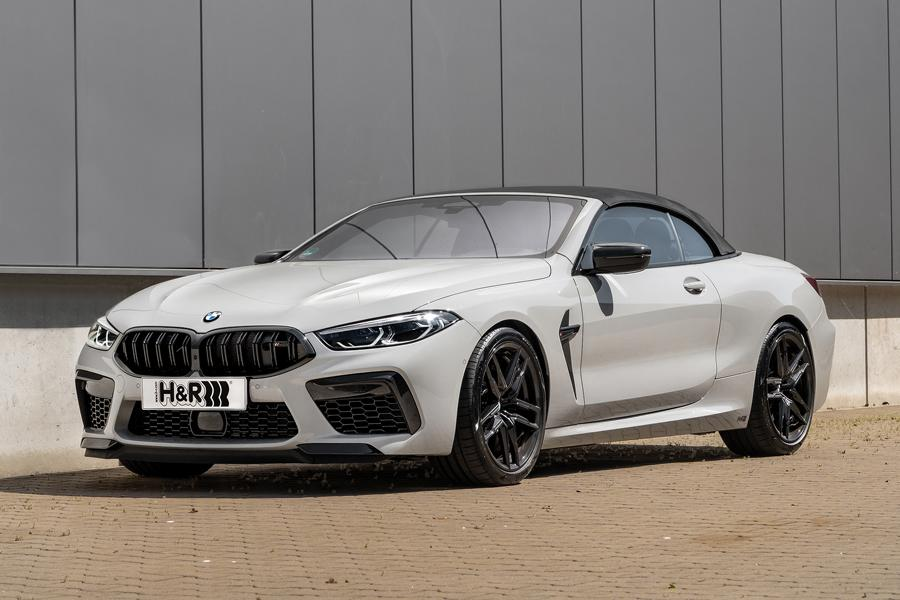 The BMW M8 Competition is a point of pride for its Bavarian manufacturer: it has AWD, needs three seconds to reach 100 km/h (60 mph) from standstill and maxes out at 300 km/h (186 mph). Its one weak point is the stock suspension – but H&R now offers a solution for this point as well.