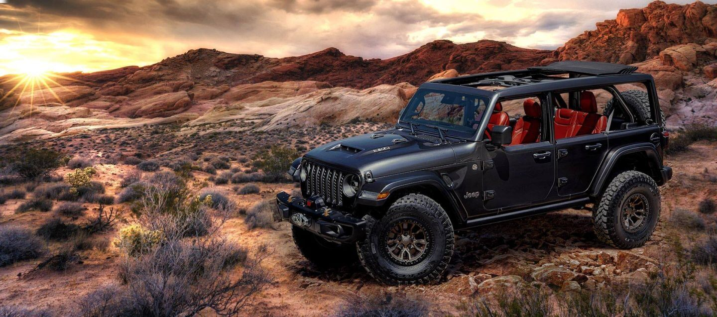 A few days ago, Jeep posted a photo with a rather transparent hint that a V8 version of the Wrangler Rubicon was coming up. It's here now, so let's delve into the details.
