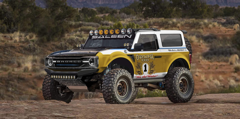 Возрождённый Ford Bronco (на видео) дебютировал совсем недавно, но уже привлёк внимание тюнеров. Первой оказалась компания Saleen: американцы опубликовали эскизы внедорожника для гонок в пустыне.