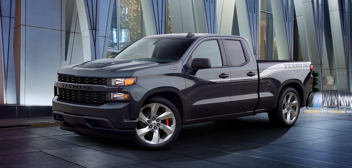 Specialty Vehicle Engineering (SVE) has unveiled another special edition of the Chevrolet Silverado truck, landing it with a slew of visual and technical improvements.