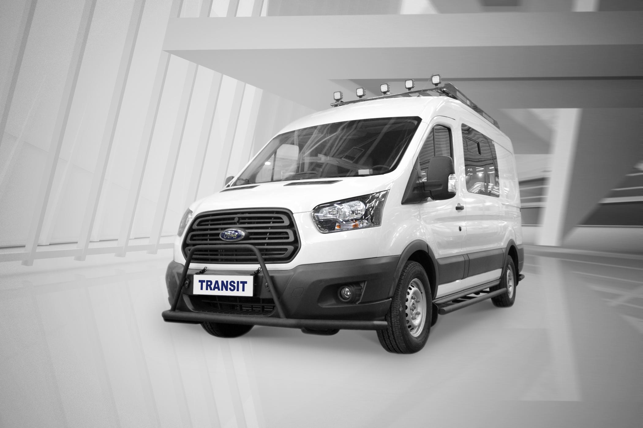 Ford показал особую версию «Транзита», которая будет полезна любителям охоты и рыбалки. Взглянем?