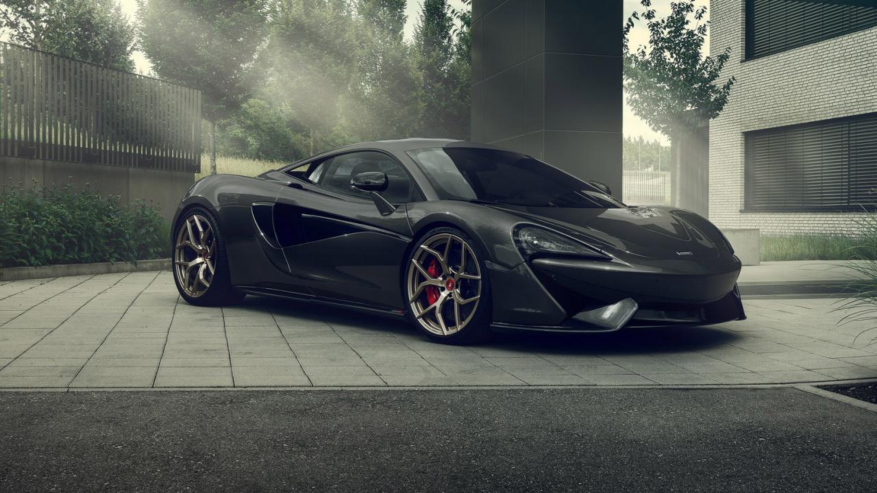 Ателье Pogea Racing представило свой новый проект: McLaren 570S превратился в 666S. «Адские» цифры взяты не с потолка: перенастроенный блок управления двигателем и выпуск MONSTERexhaust подняли мощность 3,8-литровой «битурбовосьмёрки» до 666 л. с. (+96 сил), а максимальный крутящий момент достиг 800 Нм (+200 «ньютонов»).