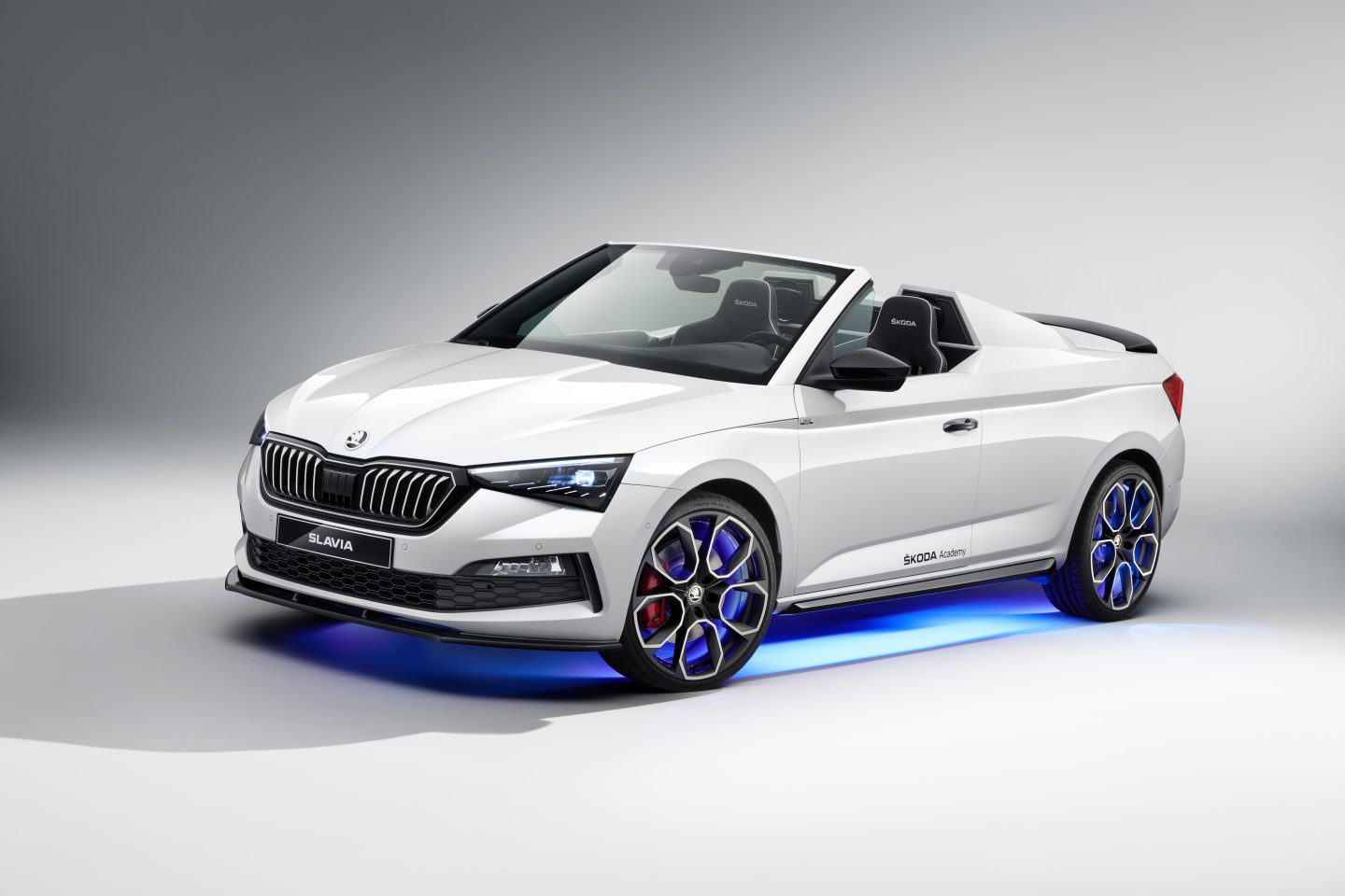 Skoda has officially presented the Slavia, a unique concept car made by the Skoda Academy students in Mlada-Boleslav, Czech Republic.