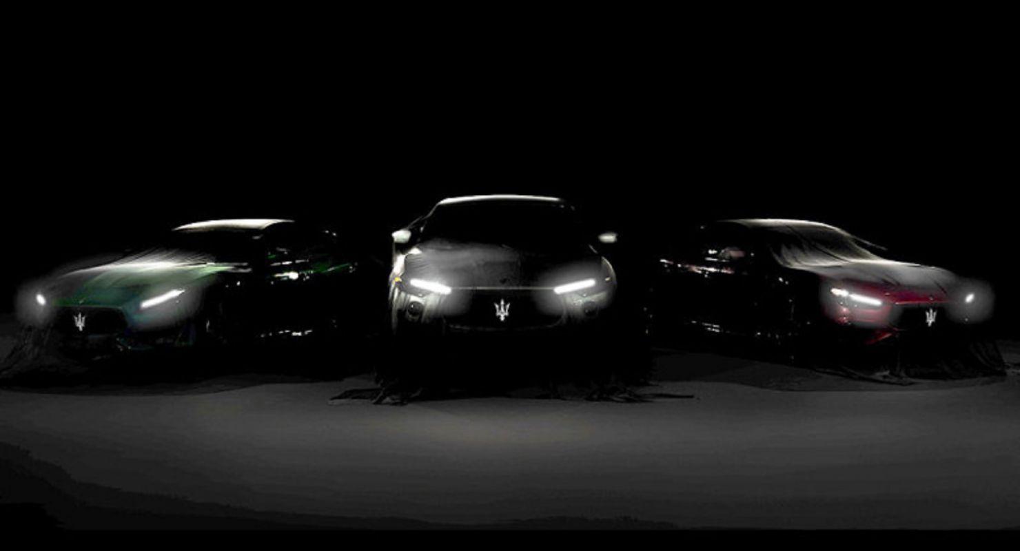 Фирма Maserati опубликовала тизер, в котором пообещала представить новую гамму «заряженных» машин: уже десятого августа к кроссоверу Levante Trofeo добавятся седаны Quattroporte Trofeo и Ghibli Trofeo.