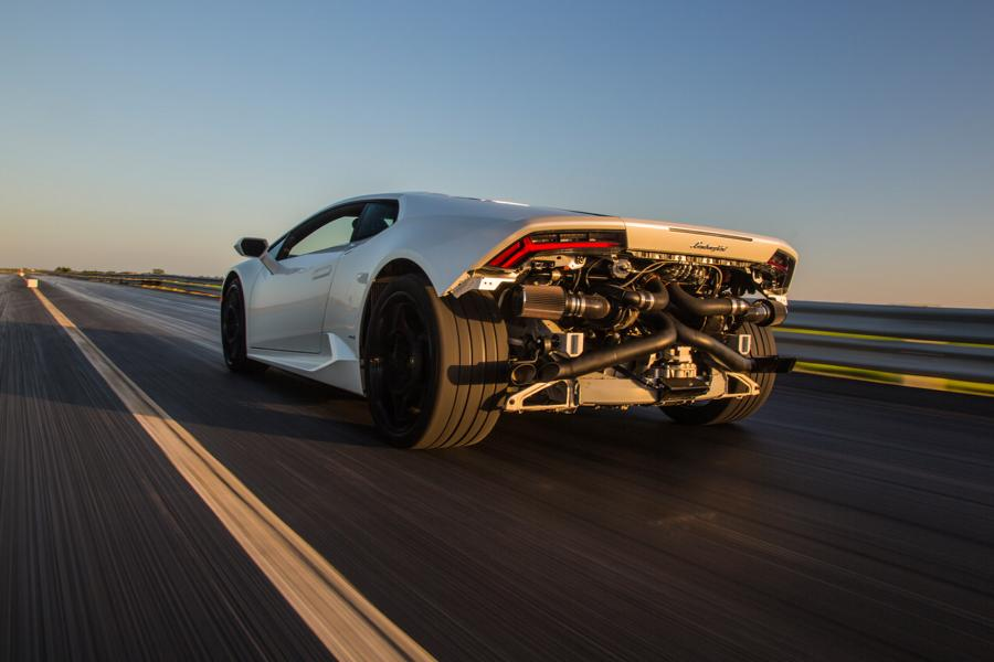 Famous Texan tuner Hennessey Performance surprised us all this spring when it suddenly introduced a turbo kit for the Audi R8 V10 – up until then, it had predominantly dealt with U.S. automotive brands. As it turns out, that kit was much more than just an odd job.