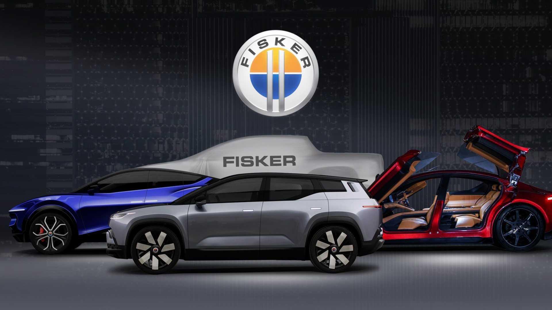Фирма Fisker Inc. опубликовала план выхода новинок на ближайшие пять лет. К кроссоверу Ocean, который дебютирует в последнем квартале 2022-го, в 2023–2025 годах присоединятся ещё один кросс, седан и пикап: они продемонстрированы на новом изображении рядом с «Оушеном».