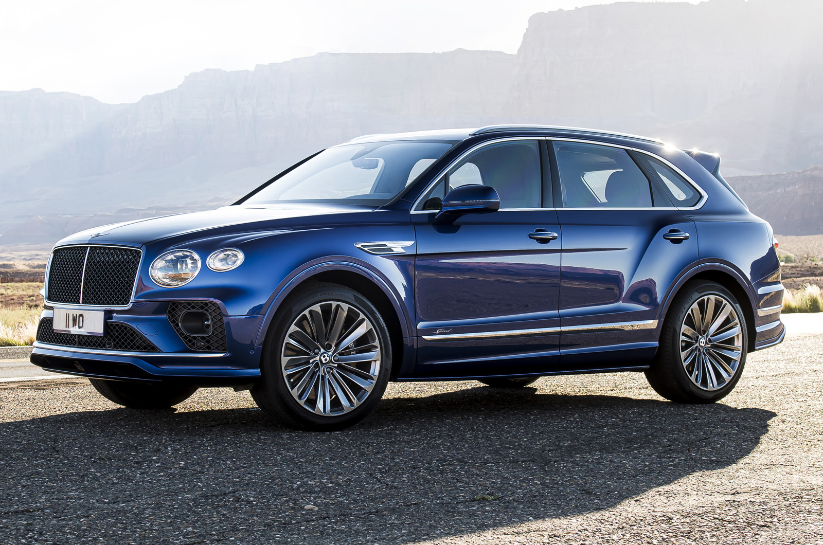 Bentley Bentayga Speed unveiled