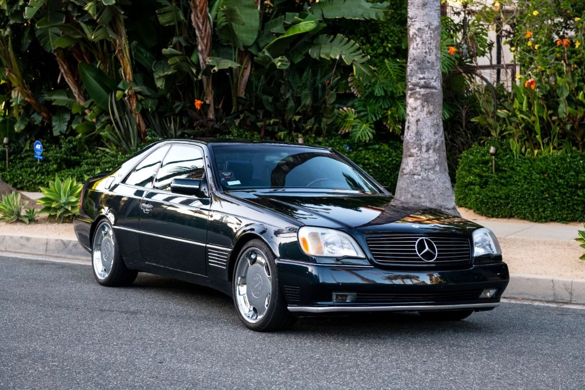 Beverly Hills Car Club will be auctioning off a unique 1996 Mercedes-Benz S600 that was customized by Lorinser (Germany) and once belonged to a legendary basketball player, Michael Jordan.