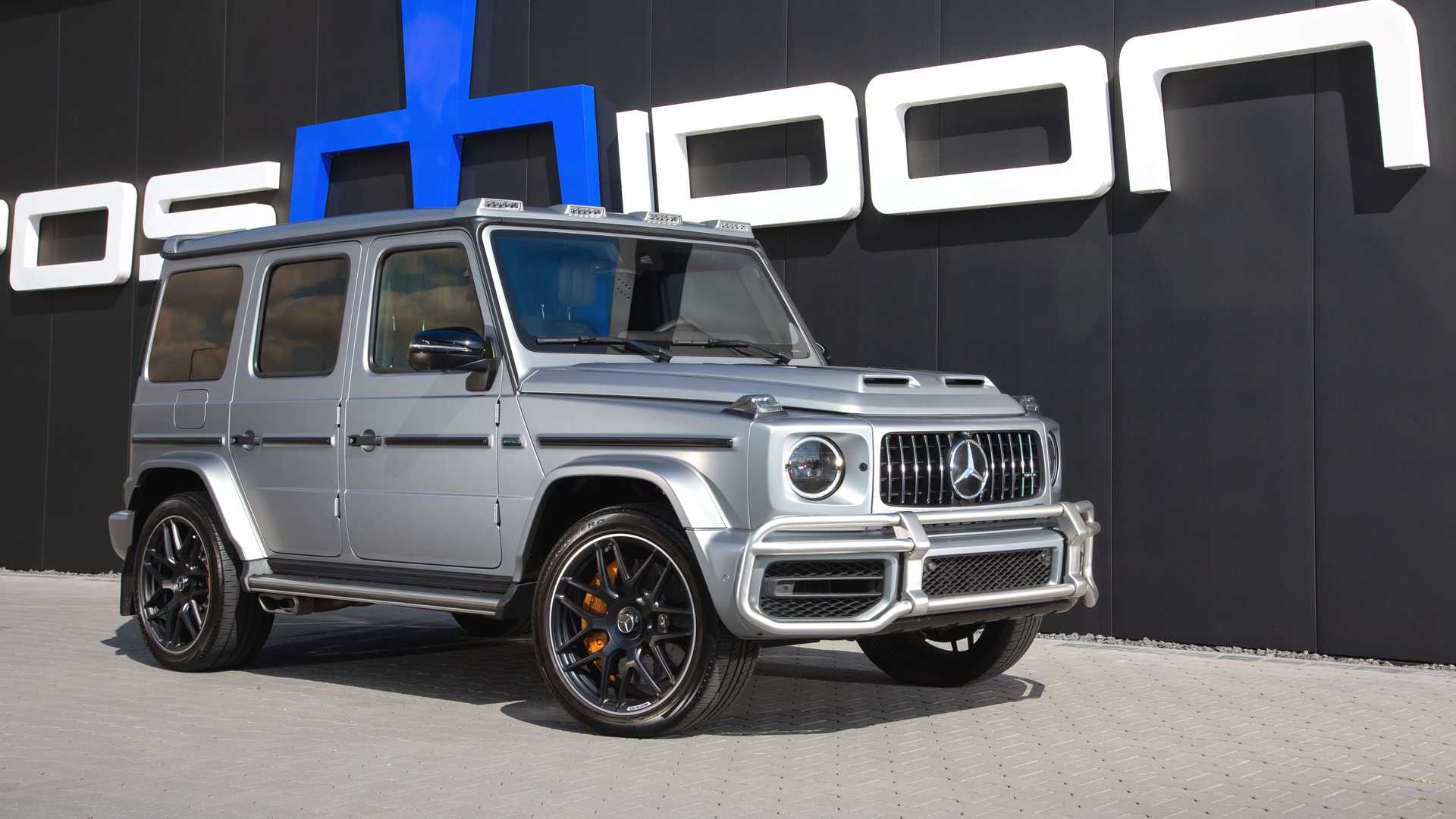 Remember the olden days, when people still preferred to drive their Mercedes G-Class vehicles away from trodden paths, rather than turning them into questionable track tools with all the agility of an elephant and all the aerodynamics of a brick? Times surely have changed. Meet Posaidon Mercedes-AMG G63, a G-Wagen that might just outrun an AMG GT R.