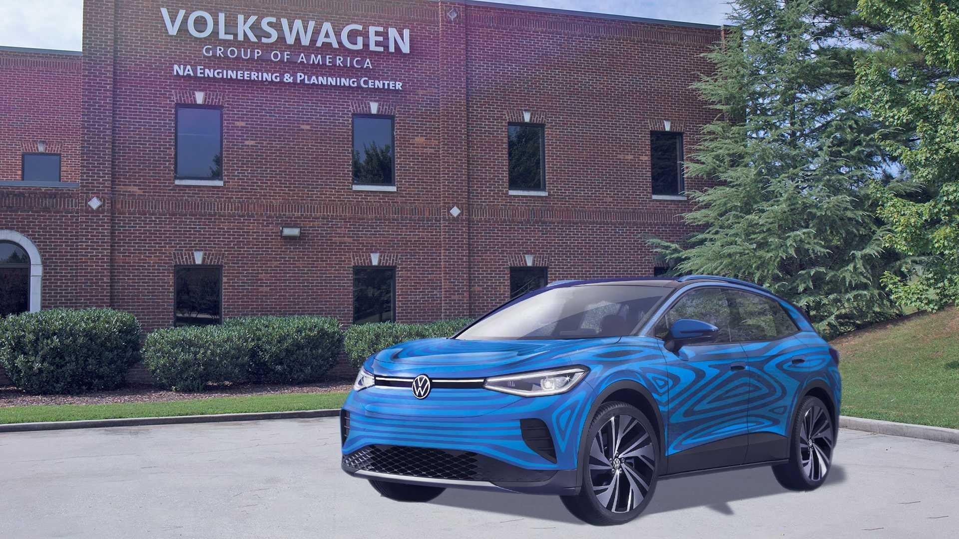 «Фольксваген» собирается масштабно расширить свой завод в американском Чаттануга. Тут будут не только собирать электрокары для США, в том числе ID.4 (на видео), но и новые тяговые батареи с элементами питания.